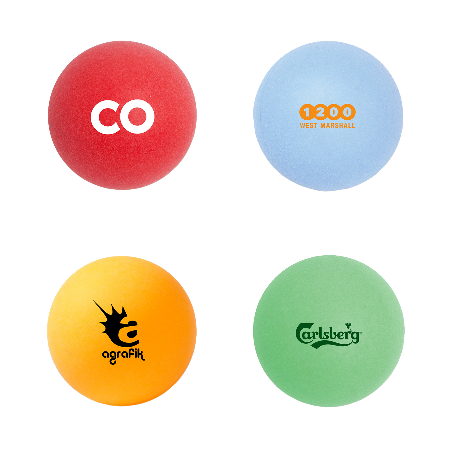 40mm Color Ping Pong Ball