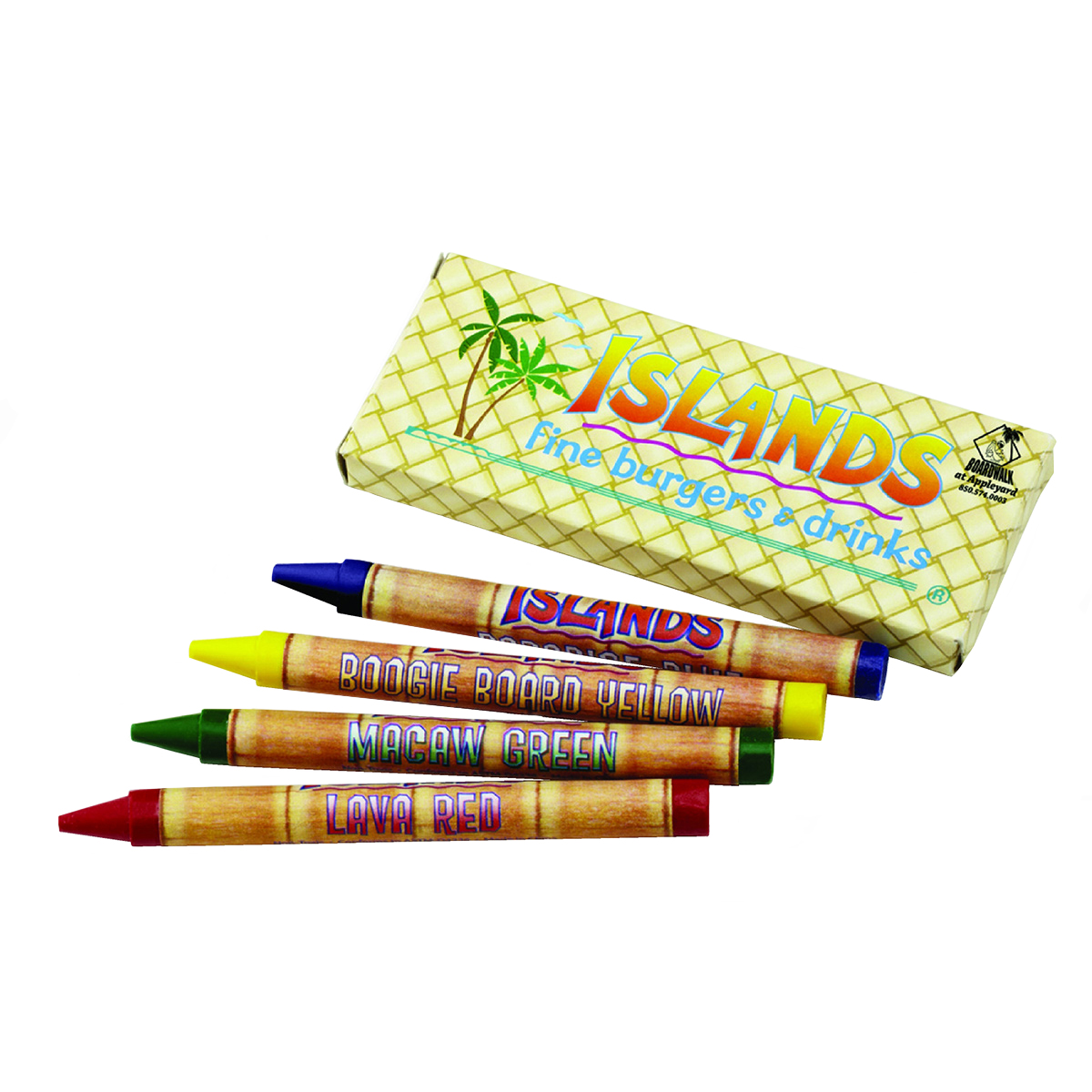 4 Count Custom Crayon Pack