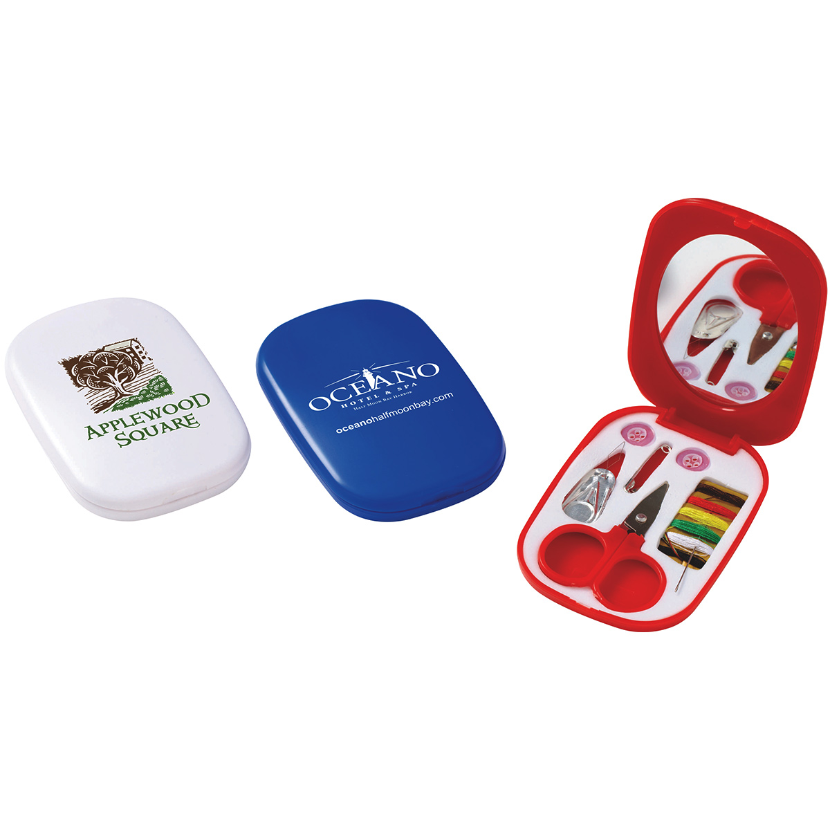 On-The-Go Sewing Kit w/ Mirror
