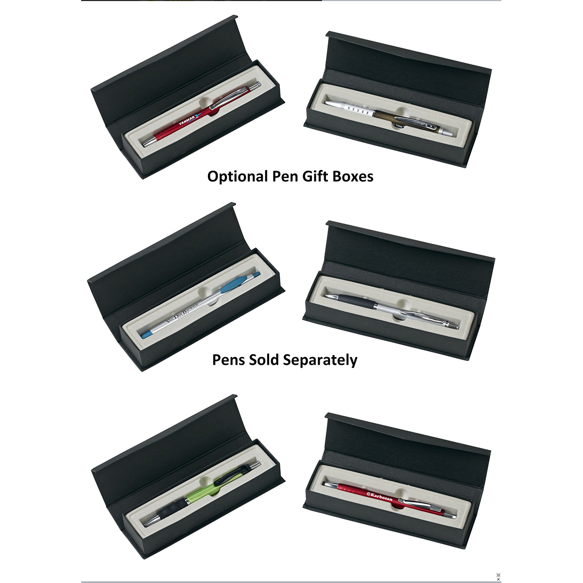 Pen Gift Box with Magnetic Closure