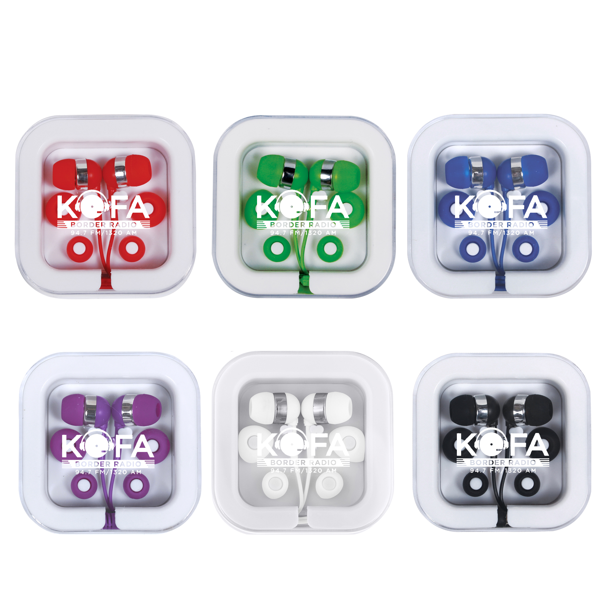Music Mate Earbuds in Case