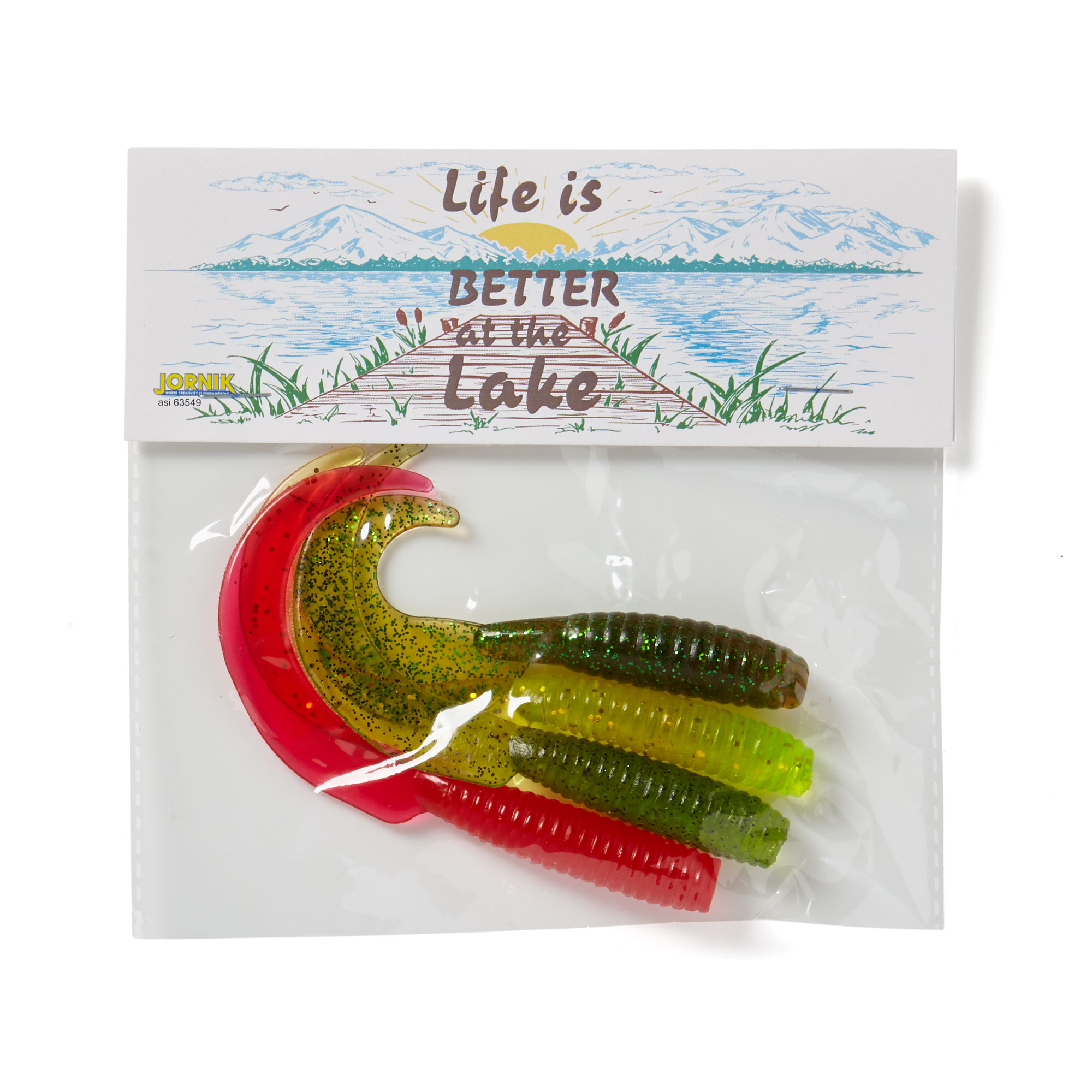 4-Pack Fishing Grubs