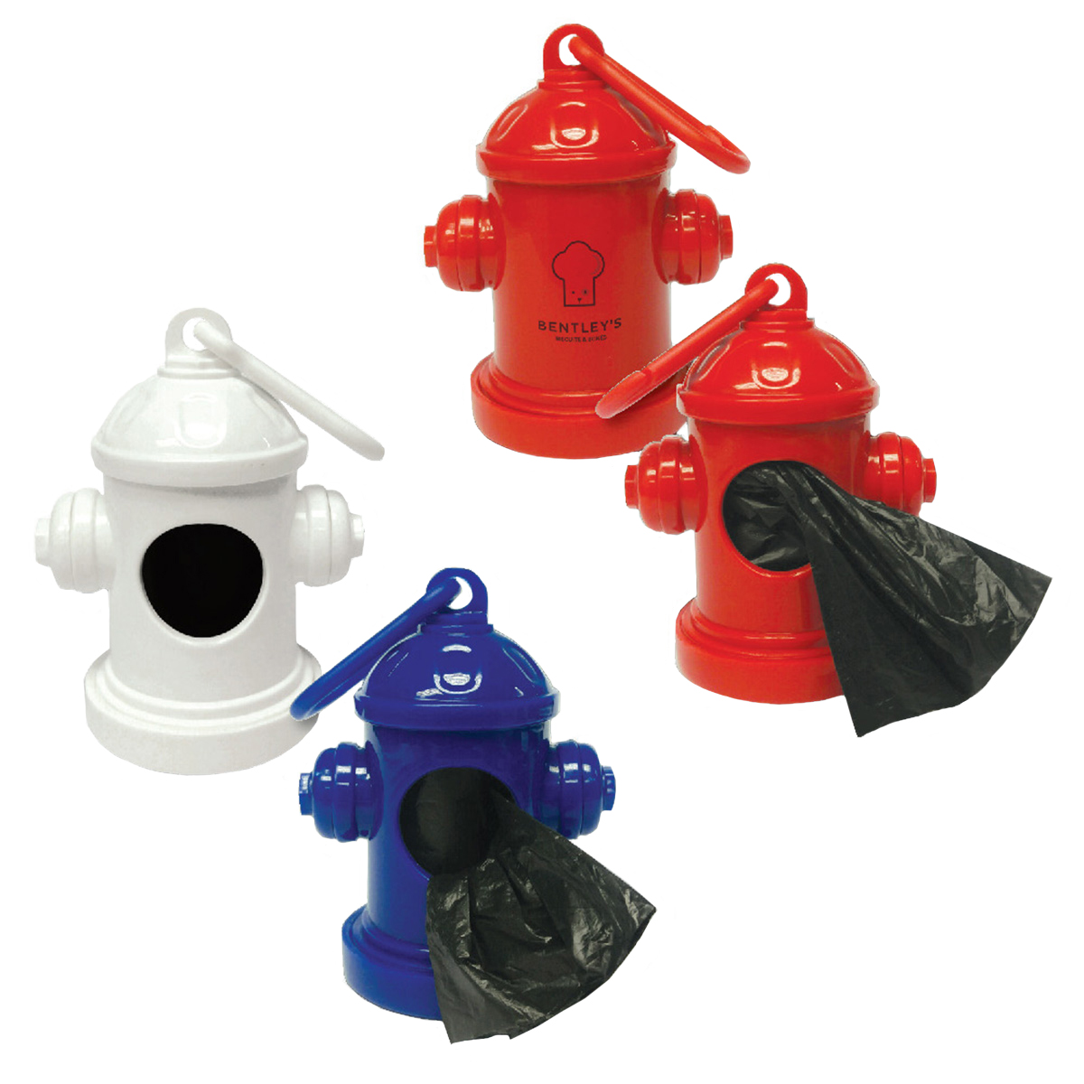 Fire Hydrant Baggie Dispenser