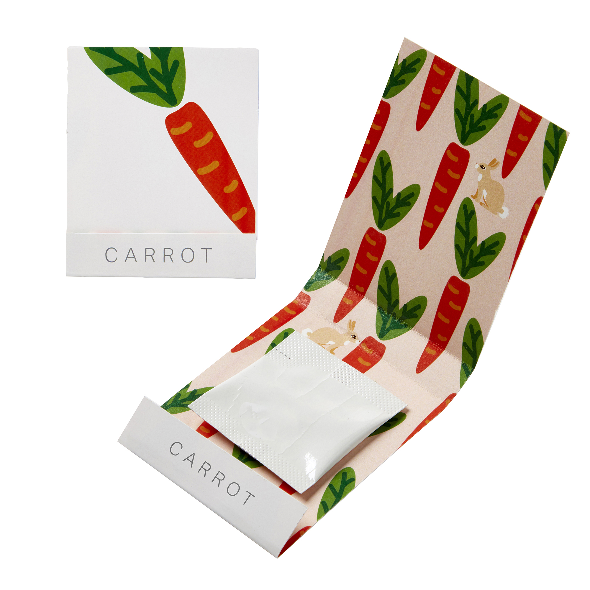 Carrot Seed Matchbook