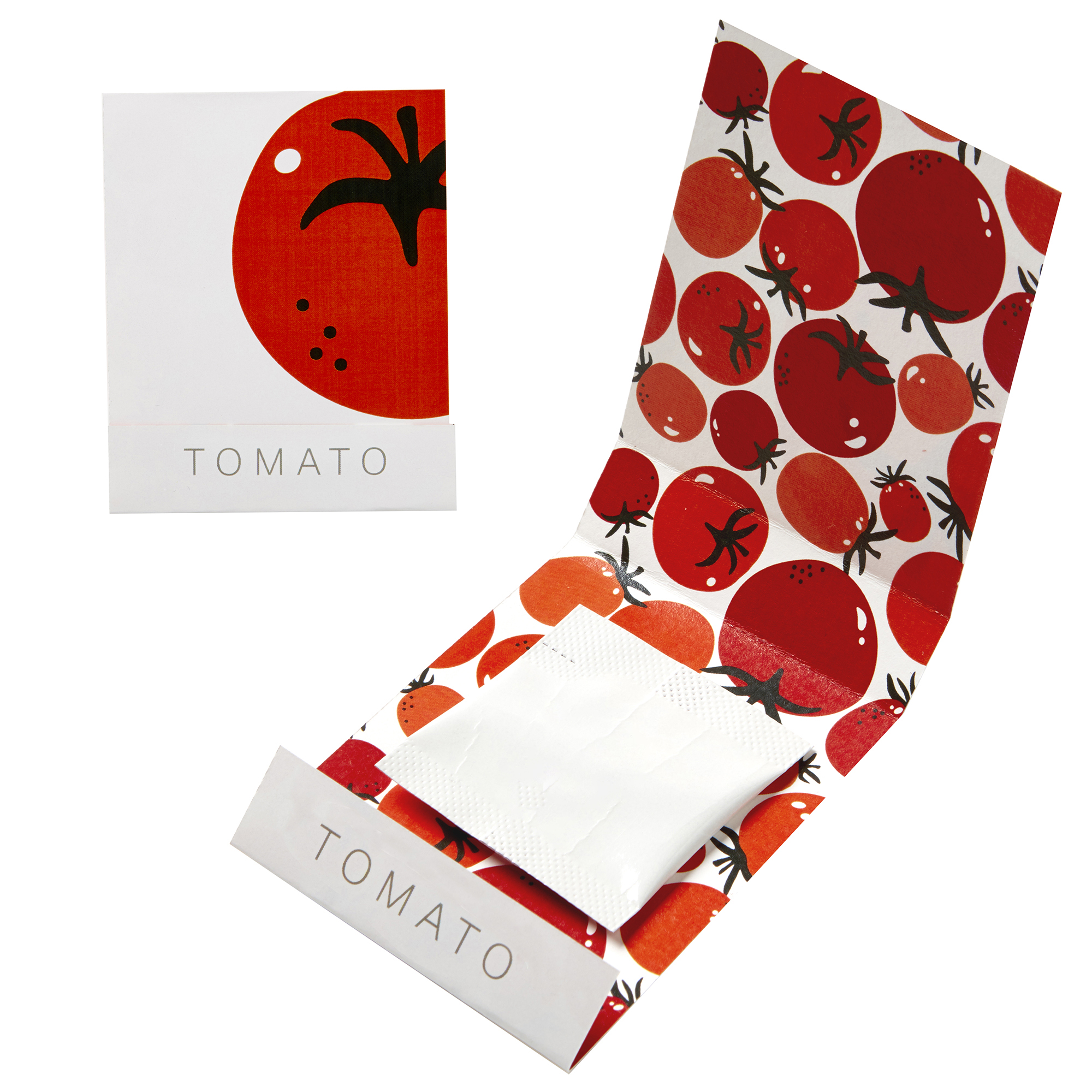 Tomato Seed Matchbook
