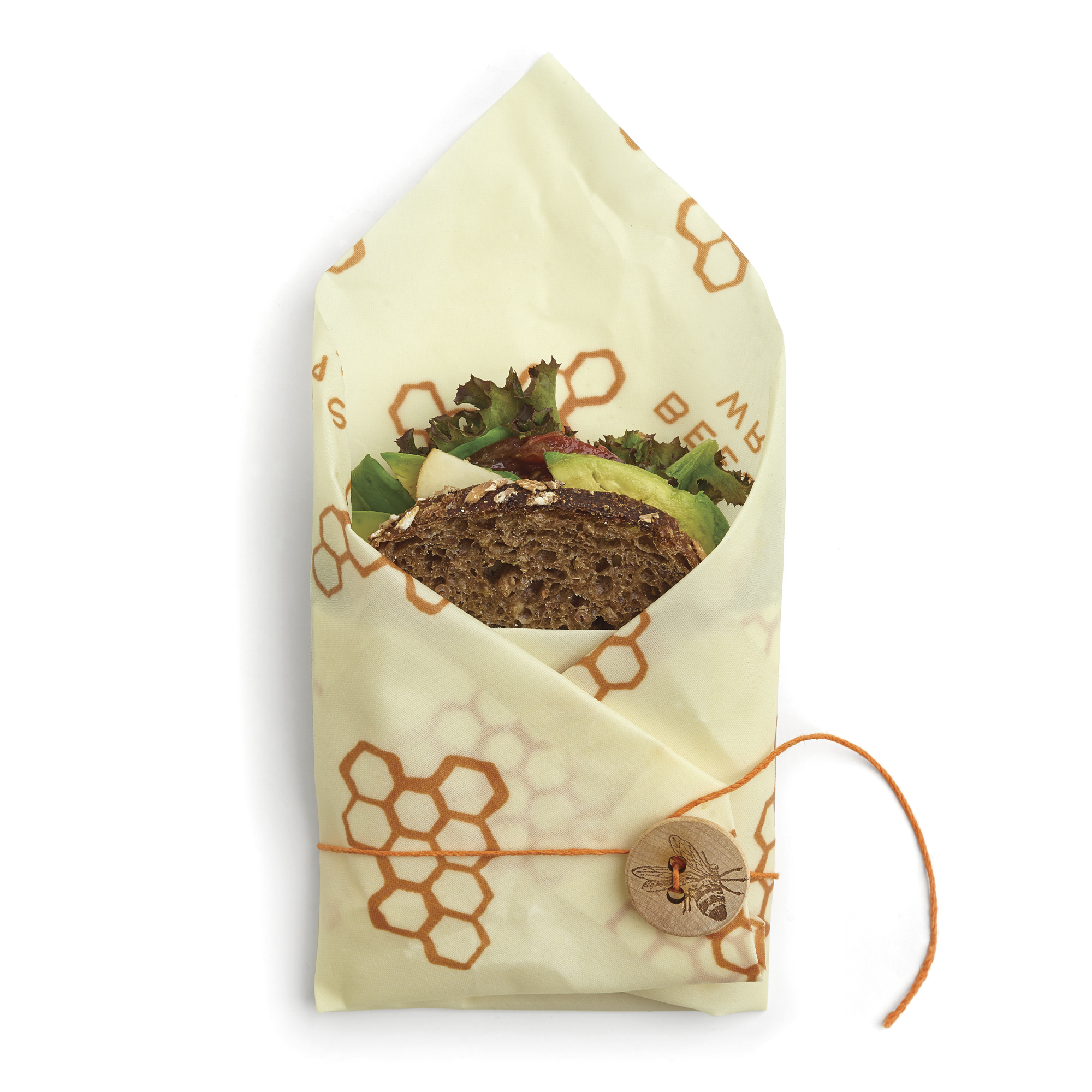 Beeswrap Large Sandwich with tie 13