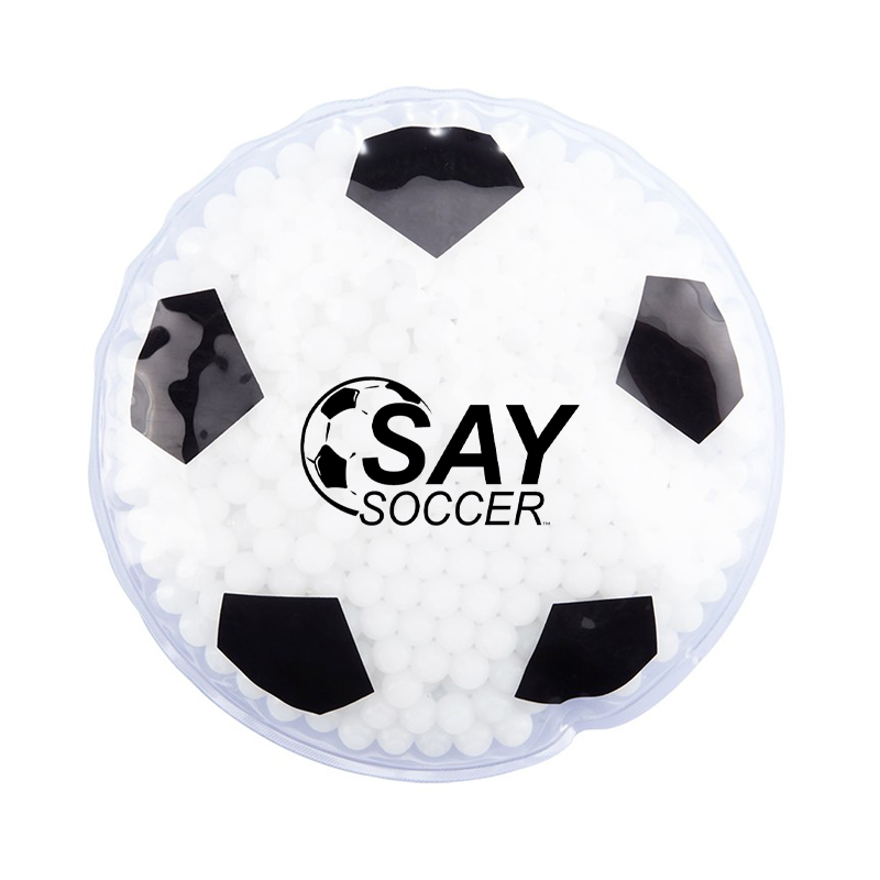 Soccer Ball Hot/Cold Therapy Gel Pack